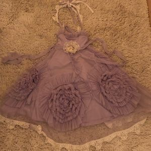 Miss goody two shoes frock- lavender dress